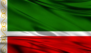 Flag of Chechen Republic