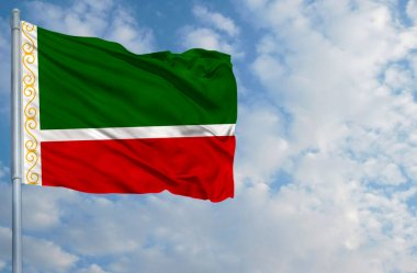 National flag of Chechen Republic