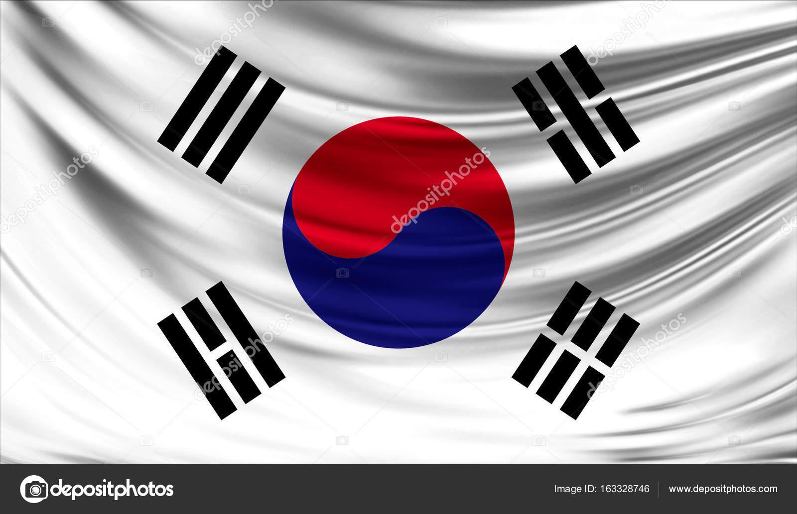 Bandera De Corea Del Sur, Cerca
