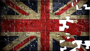 Flag of United Kingdom,puzzle effect