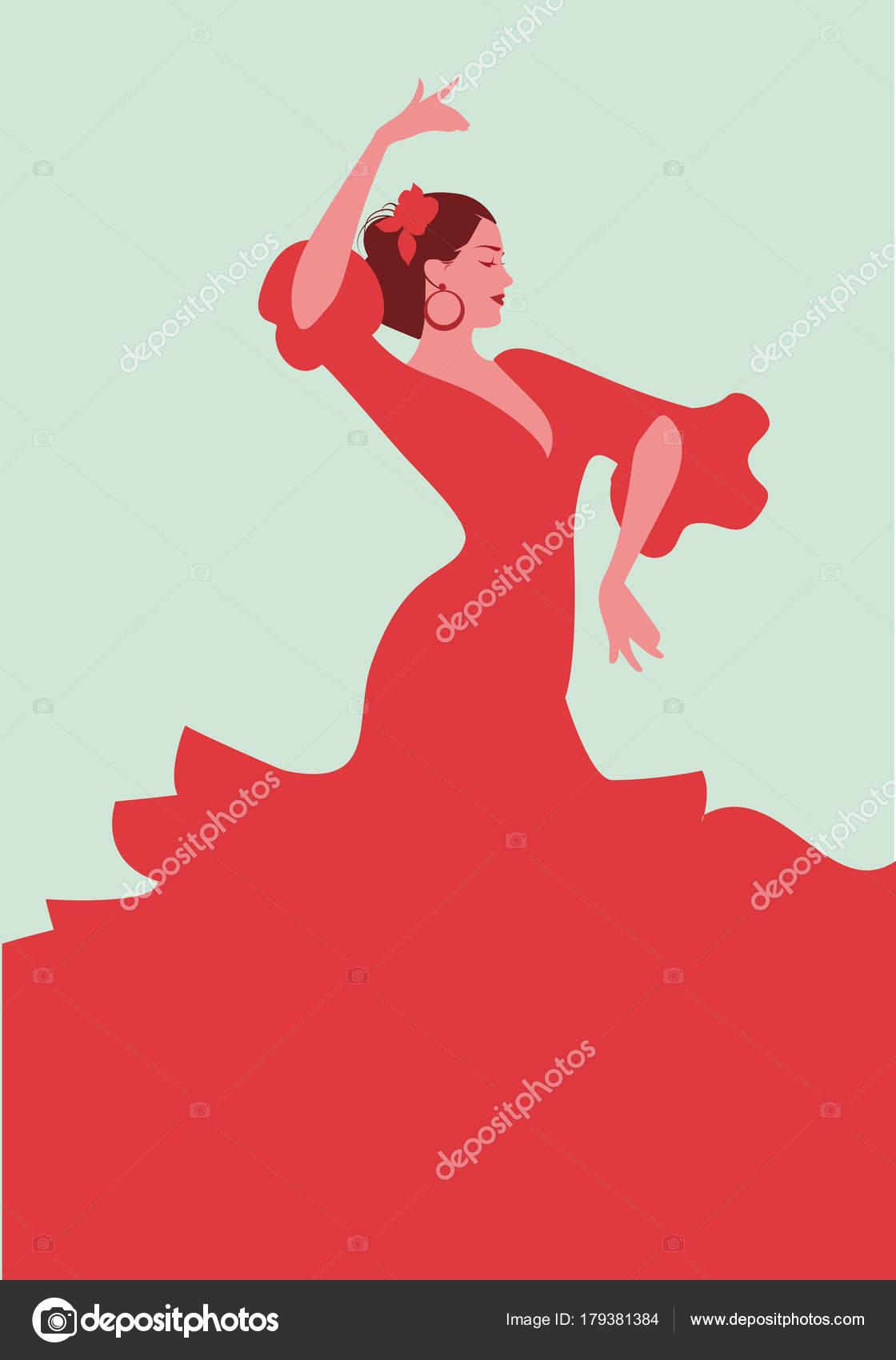 9ab2404f5a5962 Mooie Spaans flamencodanseres