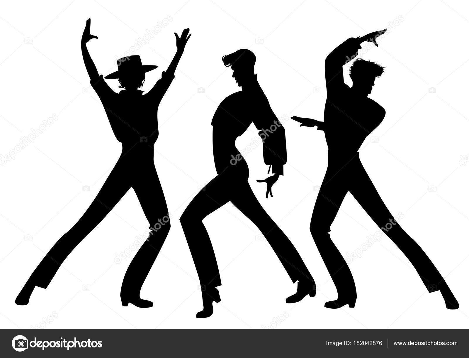 Imágenes: Silueta De Chicos Bailando