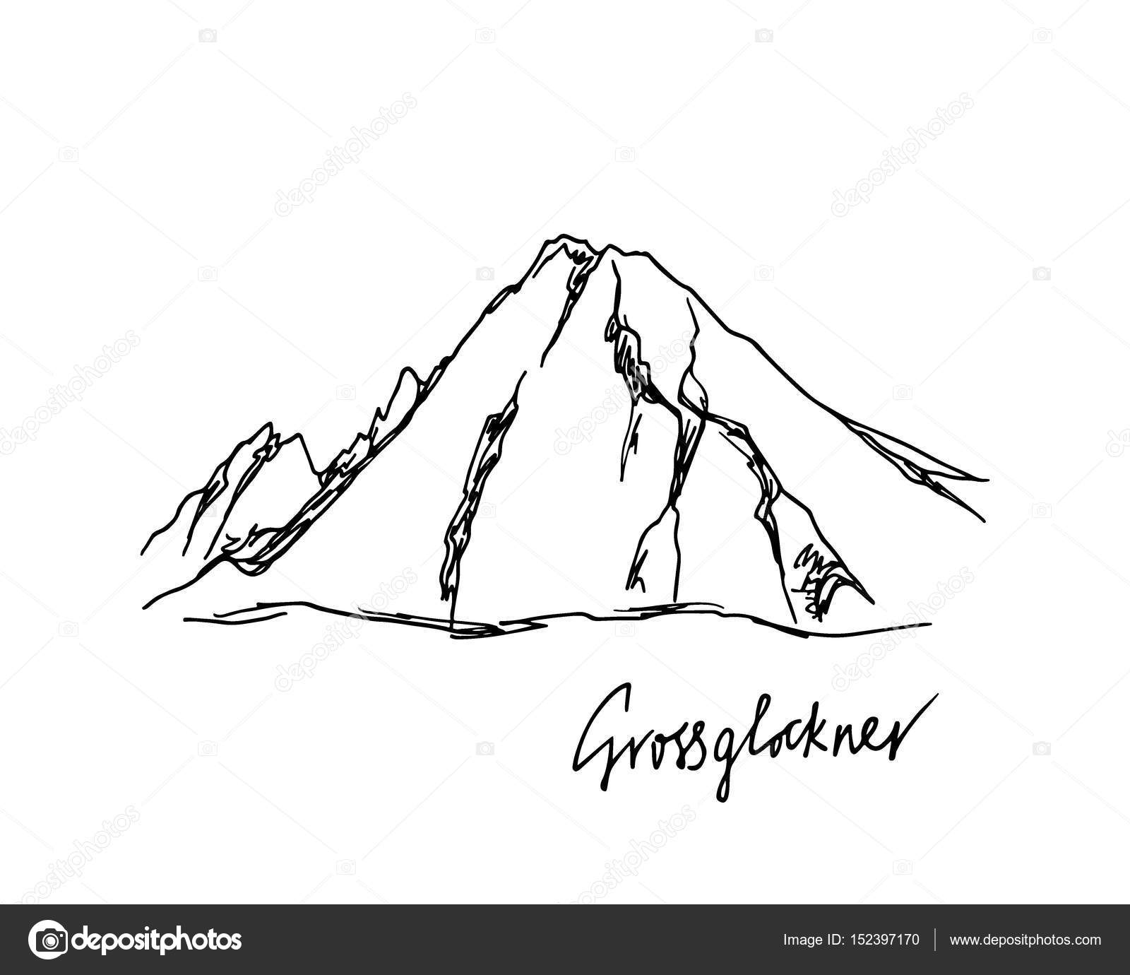 Badass mountain peak and trail drawings and images