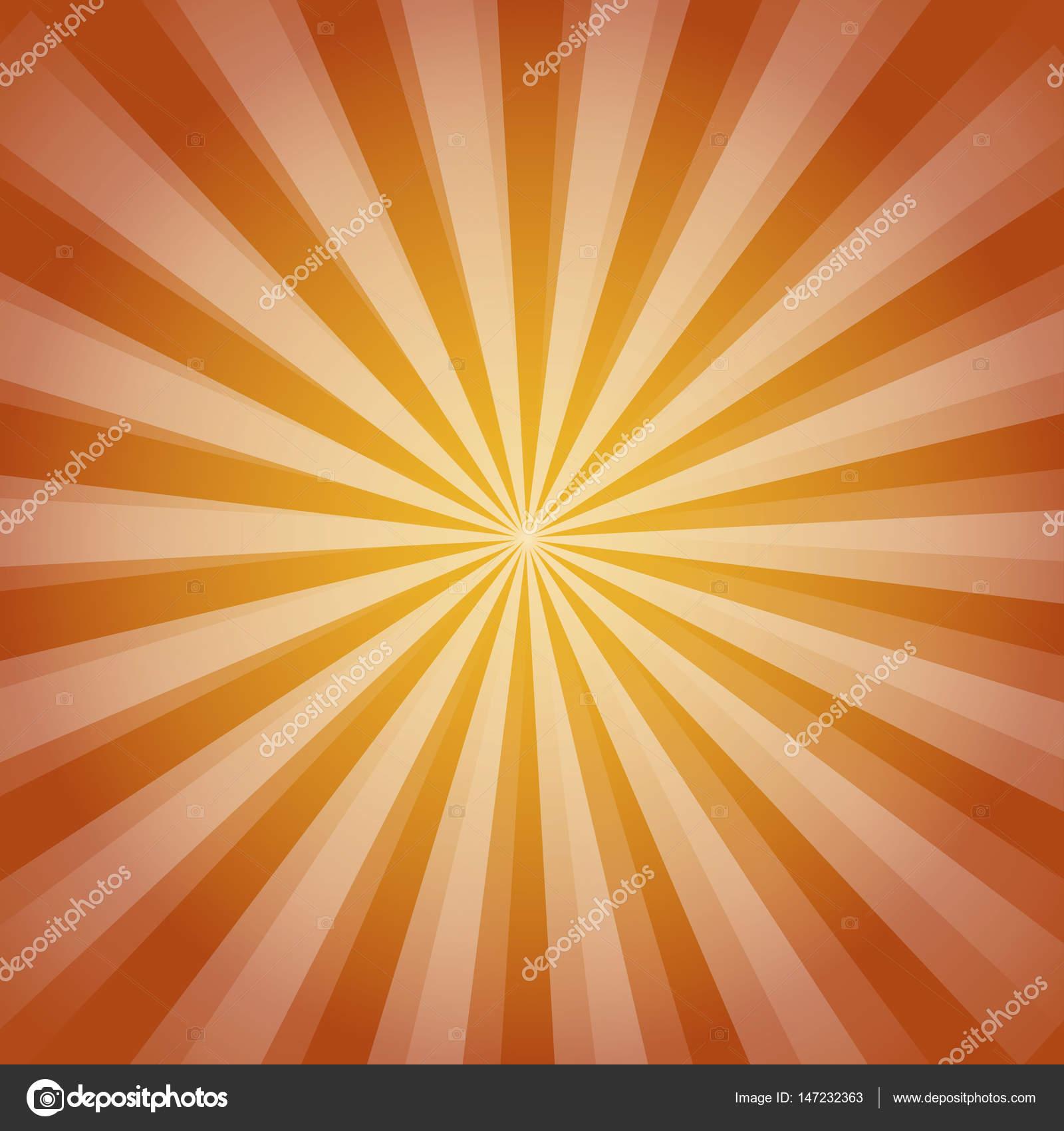 8725ac5f1ef Shiny sun ray background. Sun Sunburst Pattern. orange rays summer ...