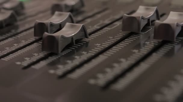 knoflíky pro ovládání zvukové míchačky, zařízení pro ovládání zvukové míchačky, elektronické zařízení