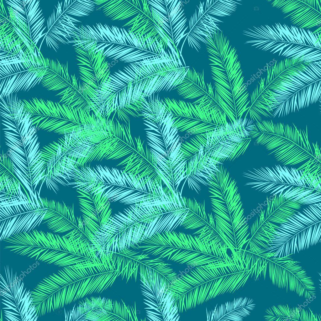Бесшовный зеленый фон 1