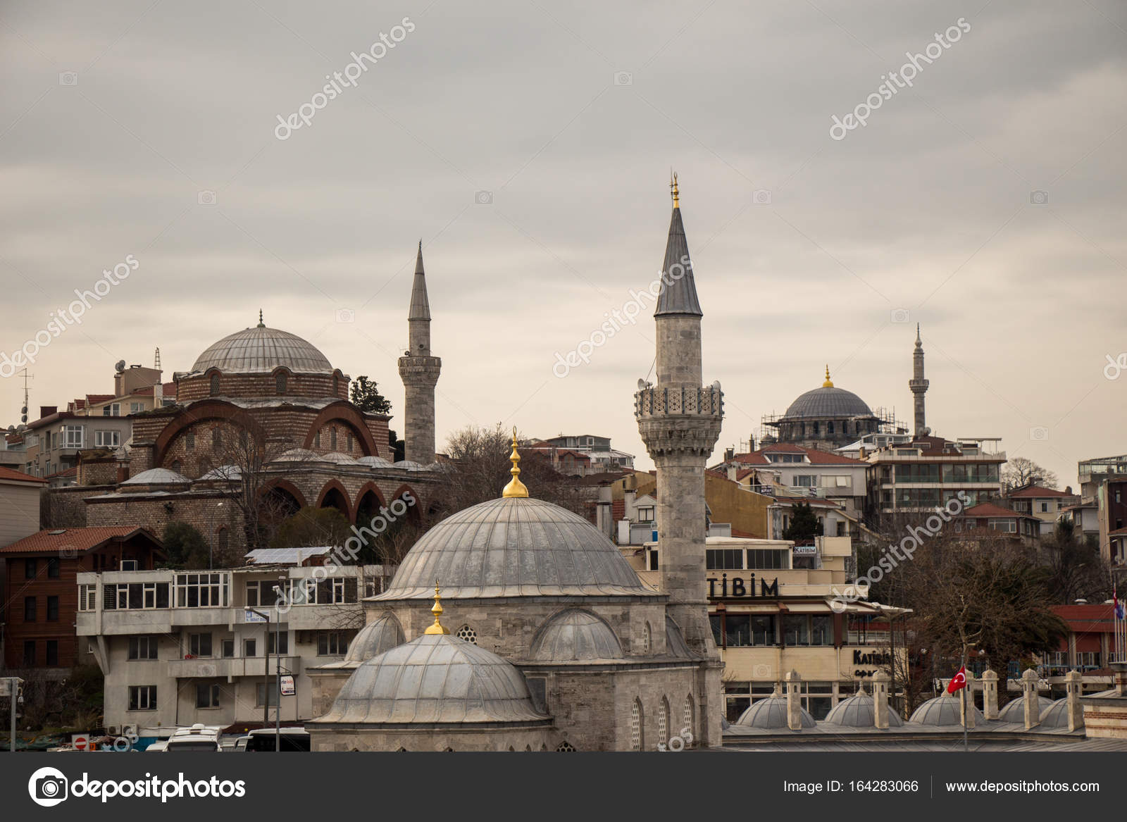 Ottoman Style Mosque In Istanbul Stock Photo C Turgayada Hotmail