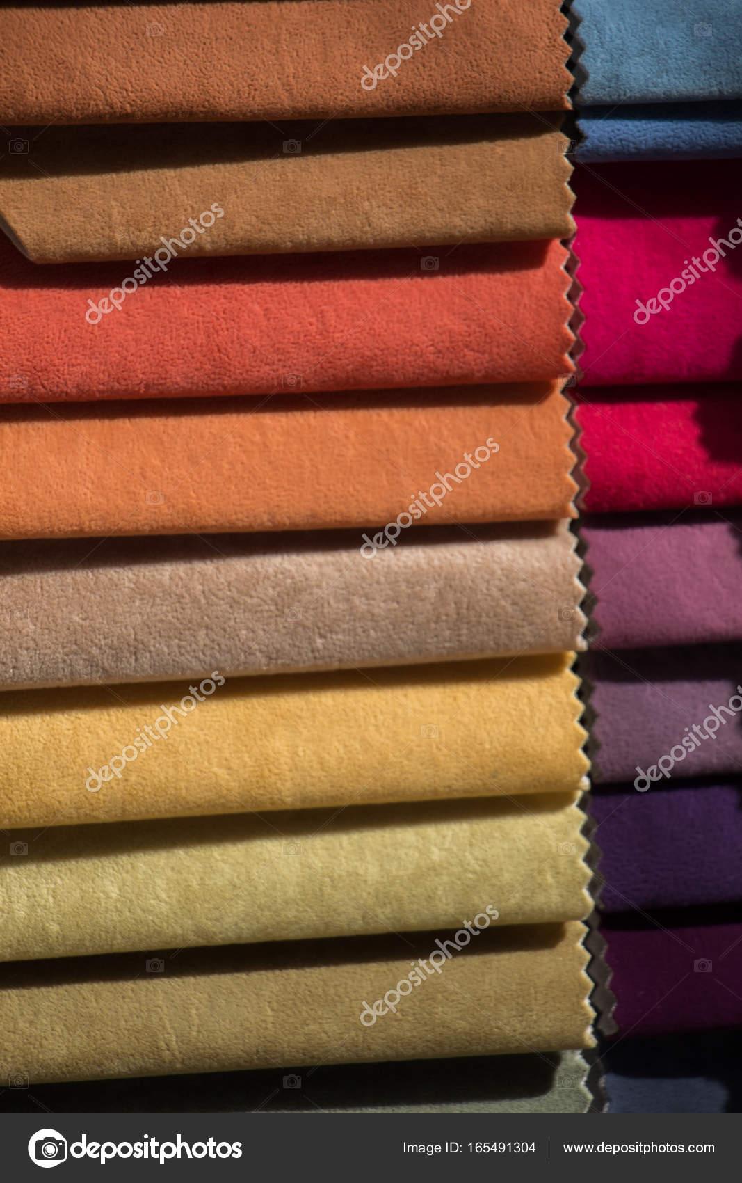 exemples de tissu de diverses couleurs et type photographie 165491304. Black Bedroom Furniture Sets. Home Design Ideas