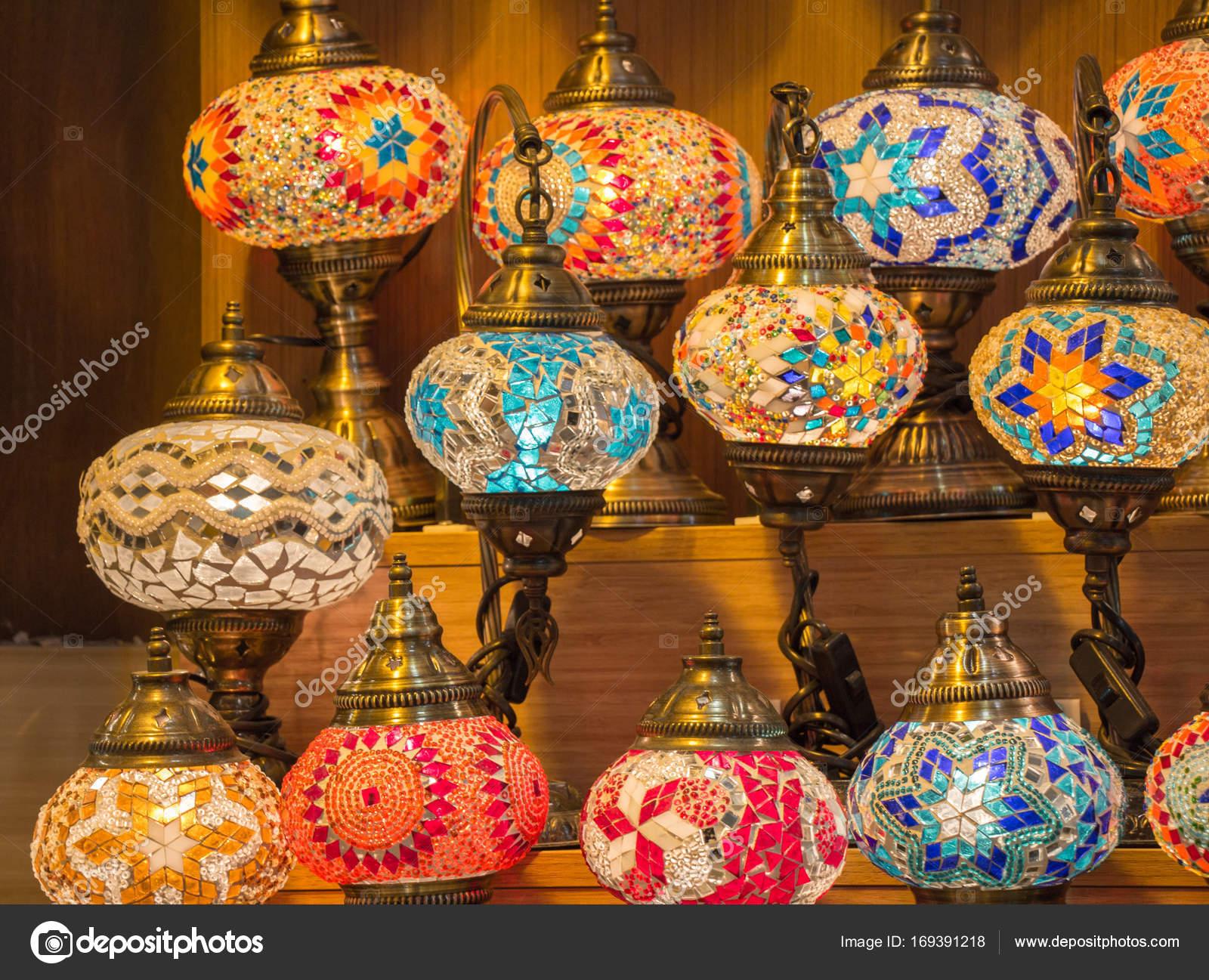 Bunte Osmanischen Stil Mosaik Lampen U2014 Foto Von Turgayada.hotmail.com