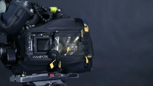 Studio camera vysílání. Jezdec výstřel.