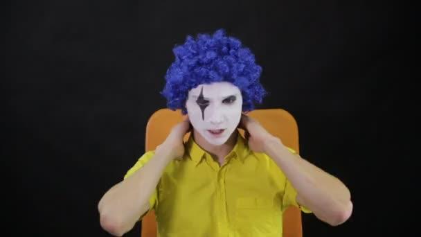 Mad Schreckliche Clown Schminken Timelapse