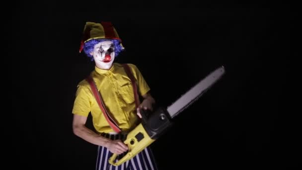 Clown Mit Kettensäge