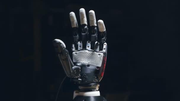 4 k. futurisztikus bionikus kar készült 3d nyomtató