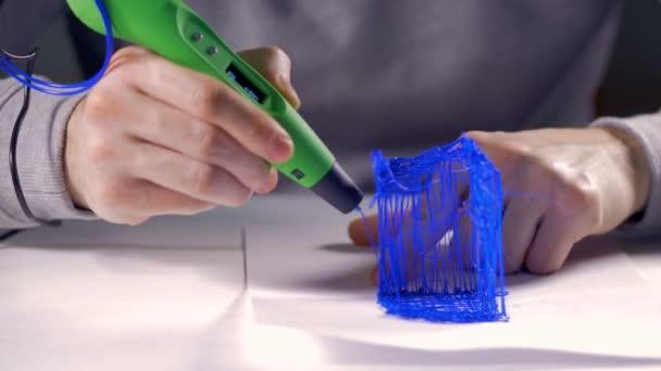 Druck-Modell aus Kunststoff mit Kunststoff-Draht-Filament mit 3d ...