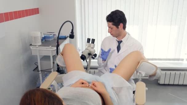 Видео на гинекологическом осмотре падборка