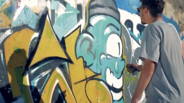 Osvěžuje graffitist obrázek.