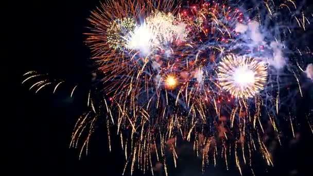 Feuerwerk. Nahaufnahme