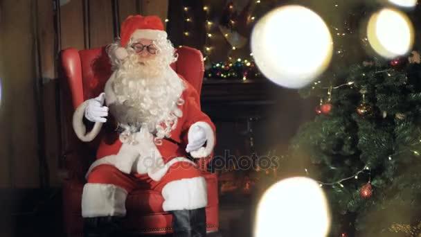 Veselý Santa Claus pozdravy