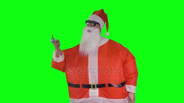 Santa Claus houpačky Vánoční cetka a tance