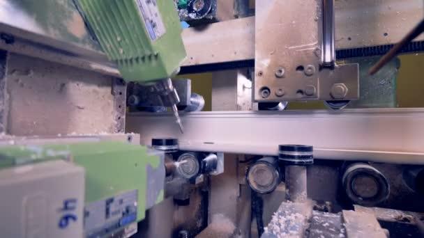 Lavorazione della plastica plastica di taglio macchina di fresatura