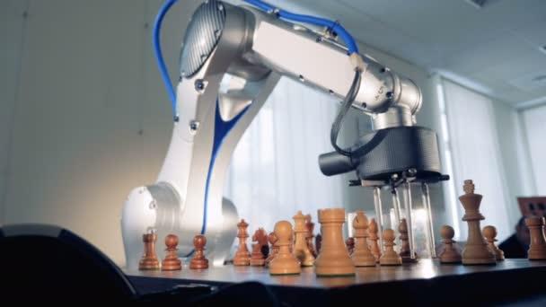 Mesterséges intelligencia, gépi intelligencia fogalmát. Sakkozni a robot.
