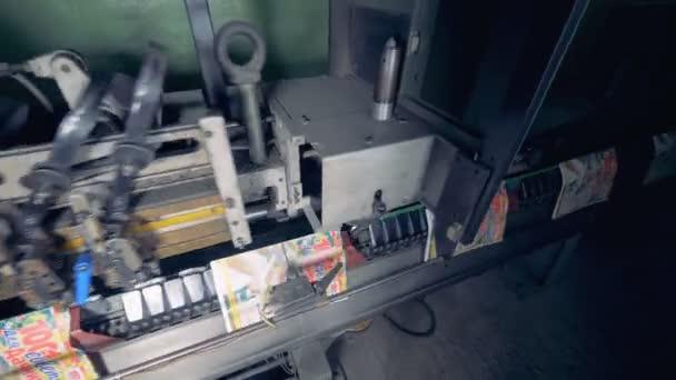 Typografie výrobní linka v tiskárně.