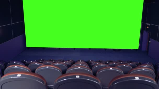 Blank Movie Theater Screen With Green Screen Background In Empty Cinema Hall Stock Video C Svmedia21 Gmail Com 187262536