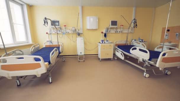 Angolo Letto Ospedale : Ampio angolo di visualizzazione di una corsia d ospedale
