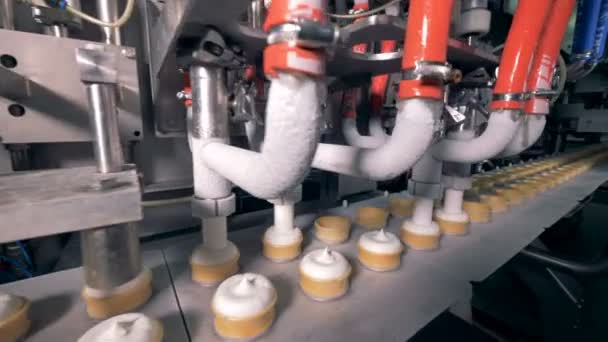 Zmrzlina výrobní zařízení v továrně na moderní potraviny
