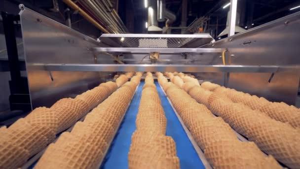 Automatický proces oplatka poháry, zmrzlina kužely produkce