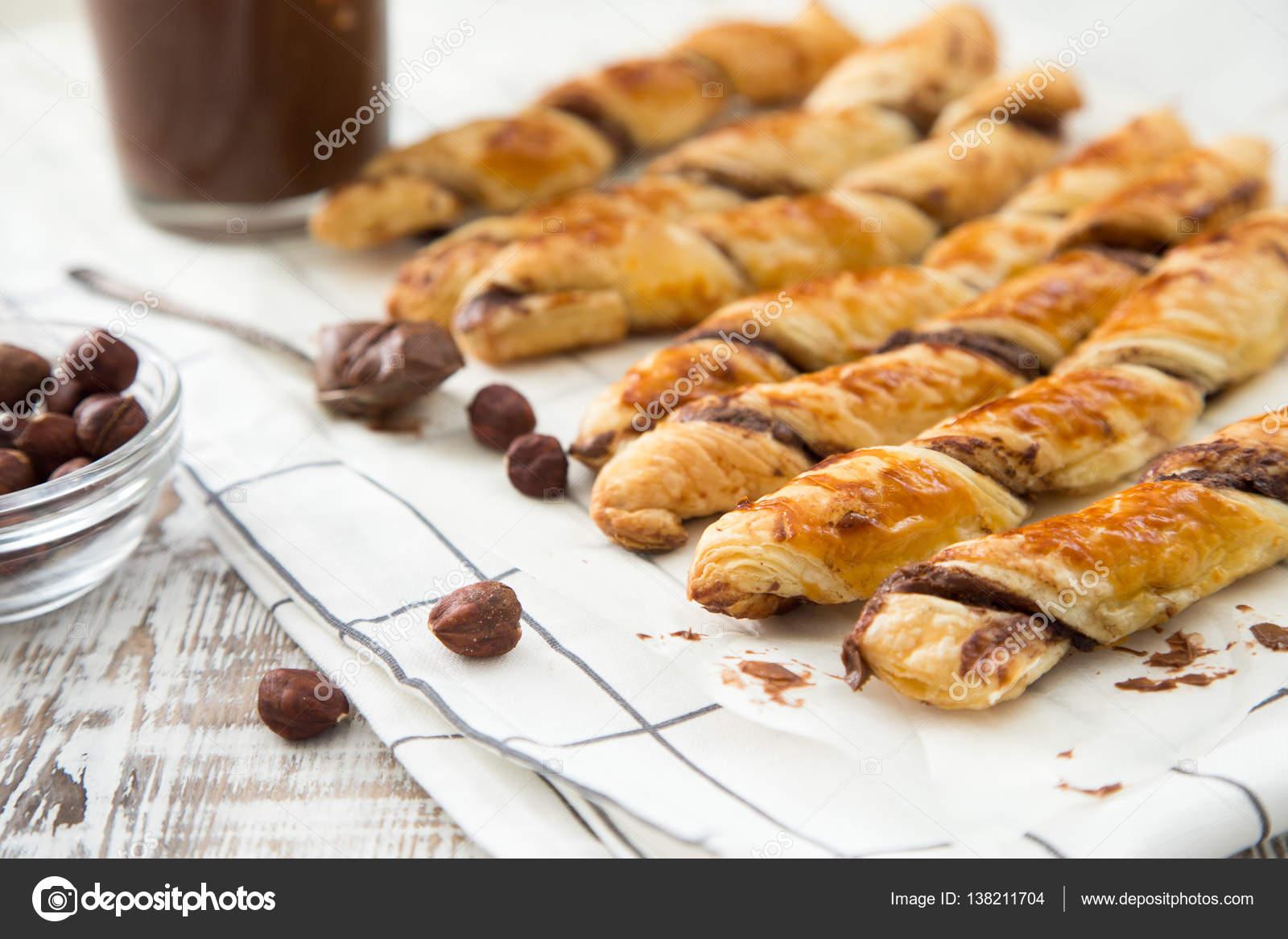 smördeg med choklad