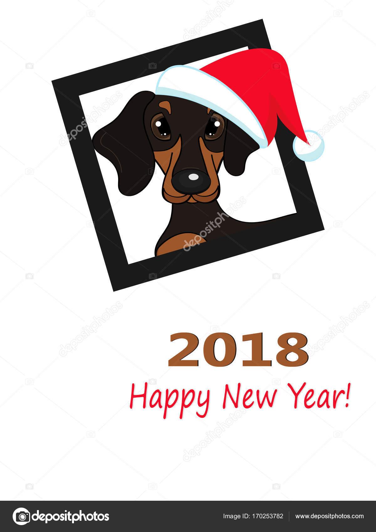 2018 Capodanno cinese del cane giallo. illustrazione di vettore —  Vettoriali di pidzam4e.ukr.net 75c182bd1c1f