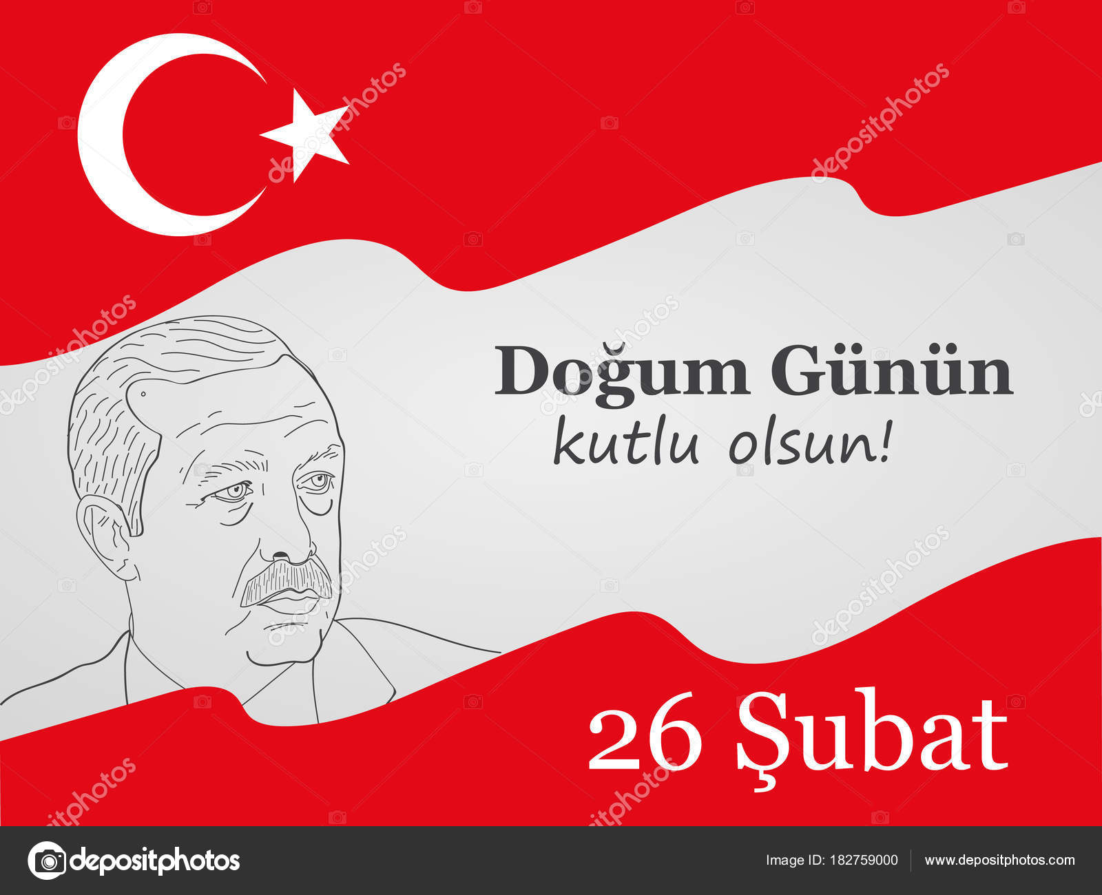 Greeting card to the birthday of president of turkey recep tayyip greeting card to the birthday of president of turkey recep tayyip erdoan translation from m4hsunfo