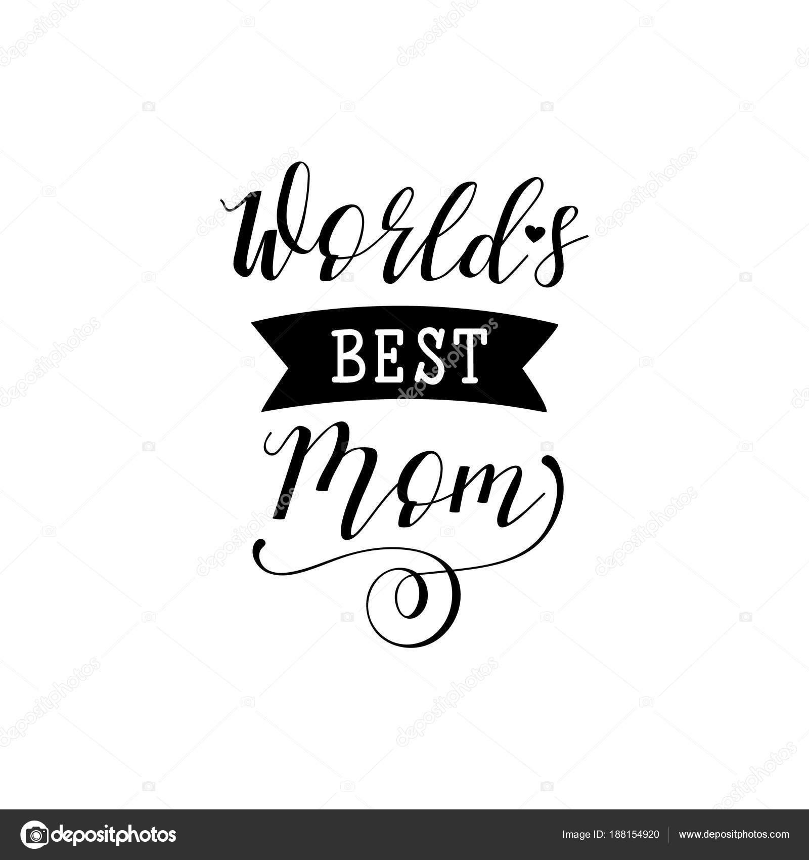 6f716e5d5339 Лучшая мама мире. День матери рука надписи для поздравительных ...