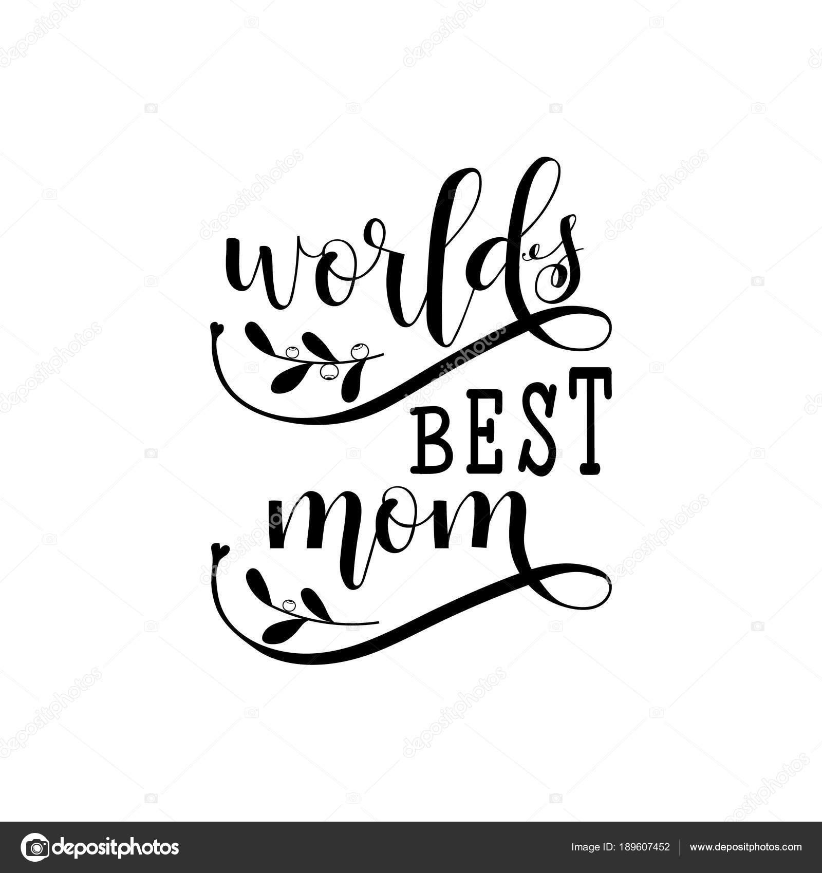 ded23afd8fa8 Миров лучший мама. Матери день рука надписи для поздравительных ...