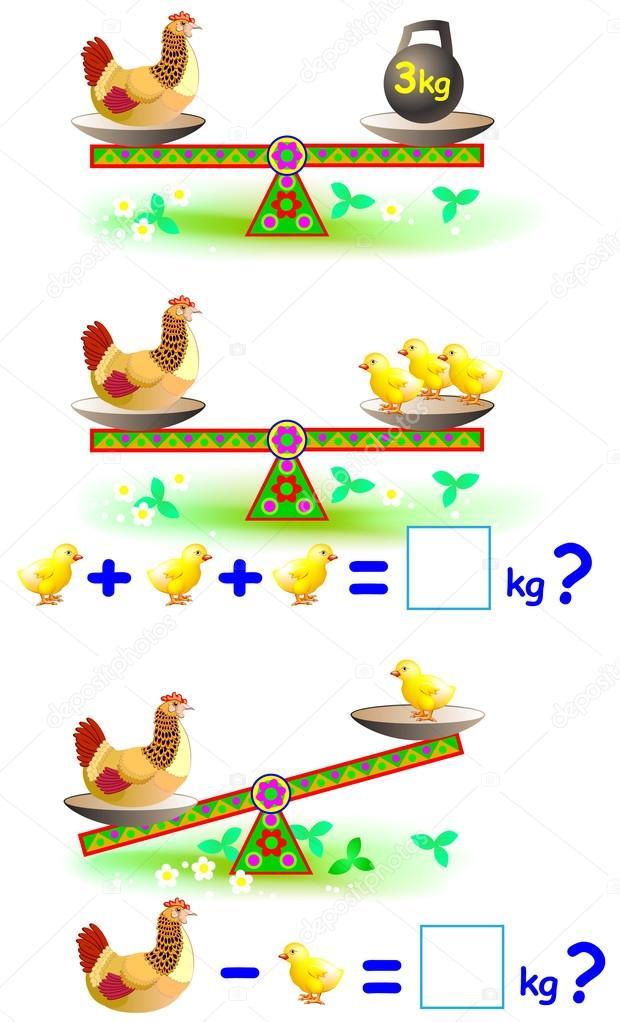 Imagenes Ninos Matematicos Animados Pagina Con Ejercicios