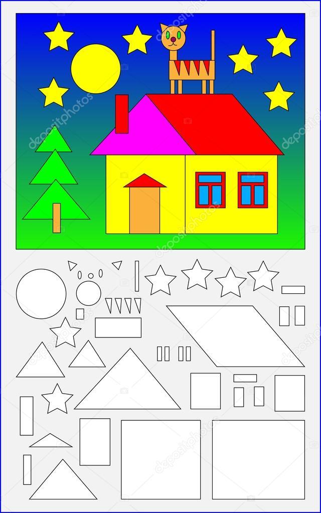 Dibujos Figuras Geometricas A Color Pagina Educativa Para Ninos