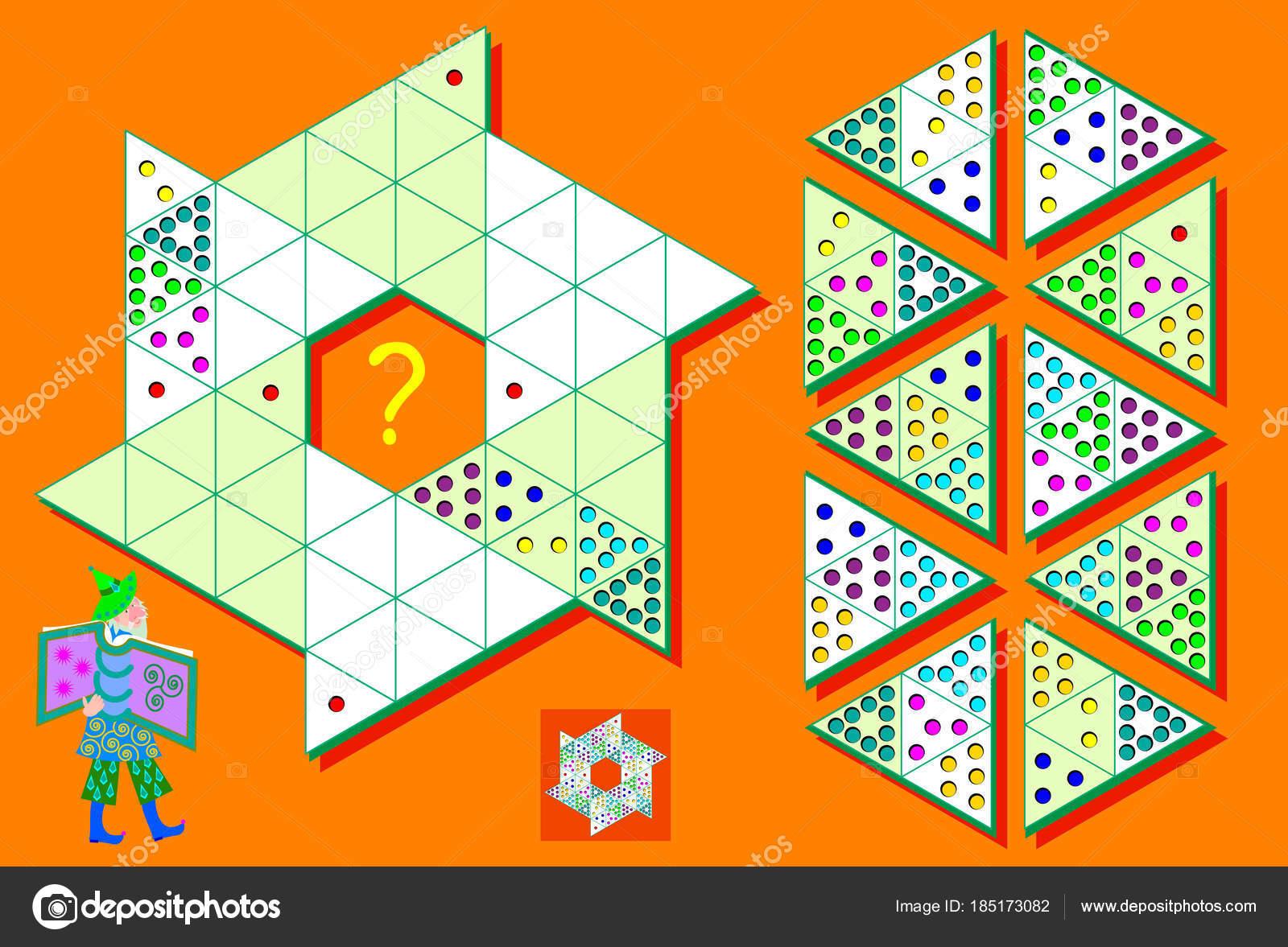 Logikspiel Sudoku Dreiecke Musst Das Puzzle Mit Den Restlichen Daten ...