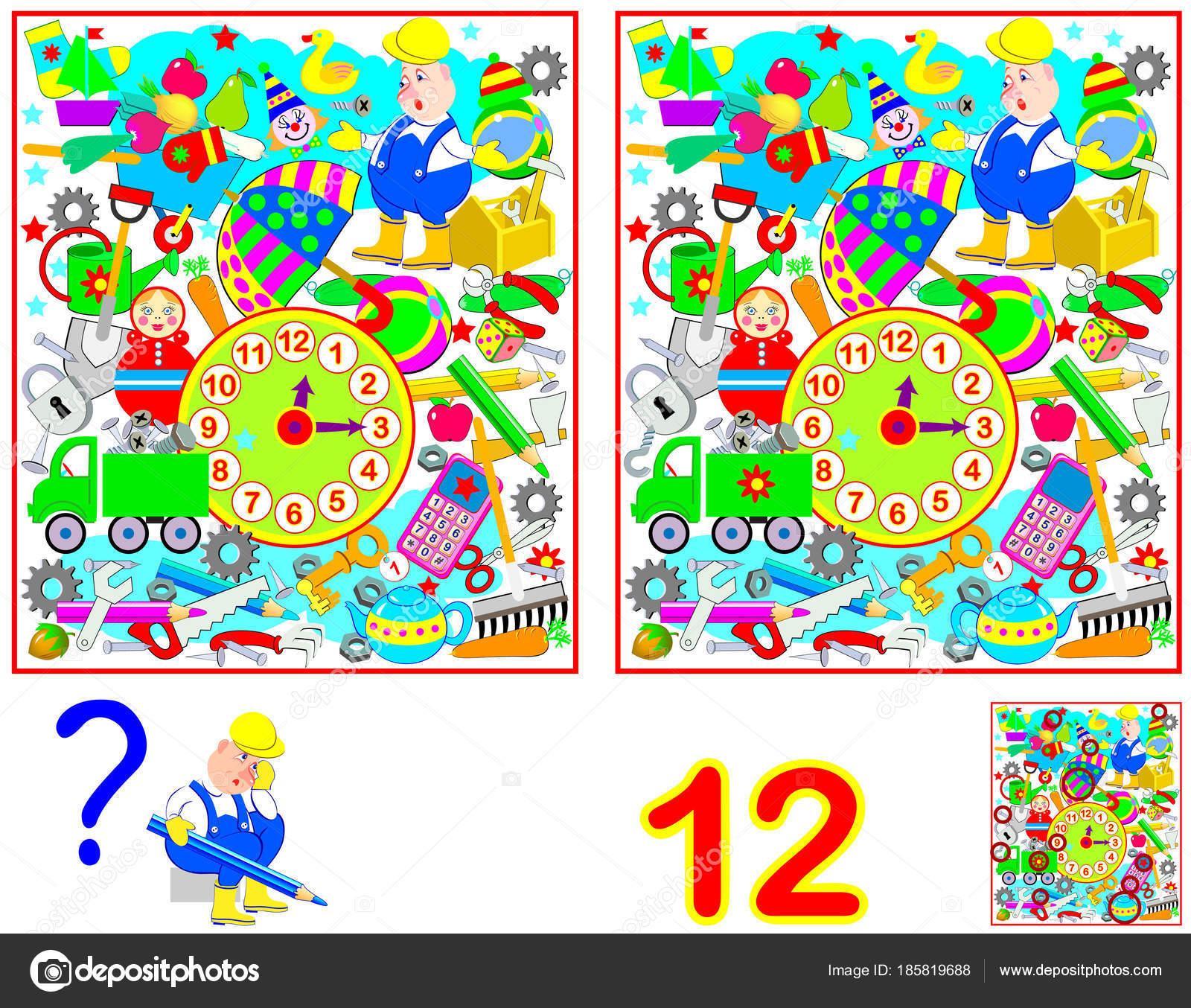 Juegos Las 7 Diferencias Para Ninos Juego Puzzle Logica Para Ninos