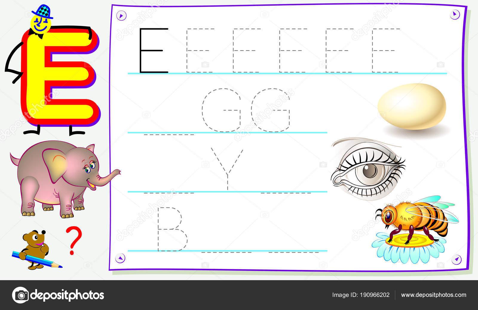 Página Educativa Para Niños Con Letra Para Estudiar Inglés ...