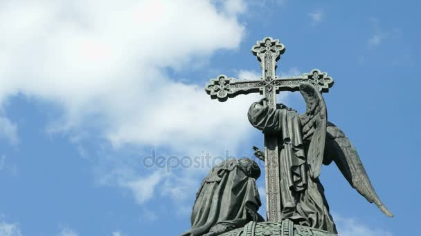 Millennium of Russia monument in Veliky Novgorod