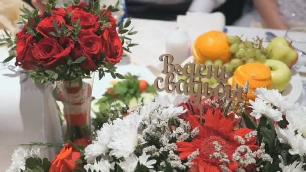 decorazioni di nozze tabella