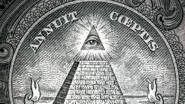 All Seeing Eye On The One Dollar New World Order Elite Characters
