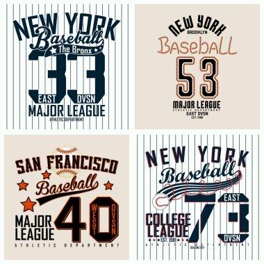set of teeshirt print designs