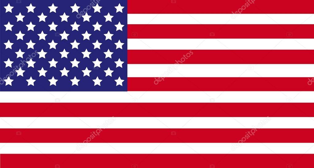 Estados Unidos De América Usa, Bandera Bandera, La