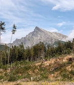 Photo Krivan peak in High Tatras mountains in Slovakia