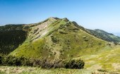 Maly Krivan hill in spring Mala Fatra mountains in Slovakia