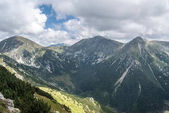 Photo Hruby vrch, Koncista, Klina and Bystra peaks with Rackova dolina bellow in Western Tatras mountains in Slovakia