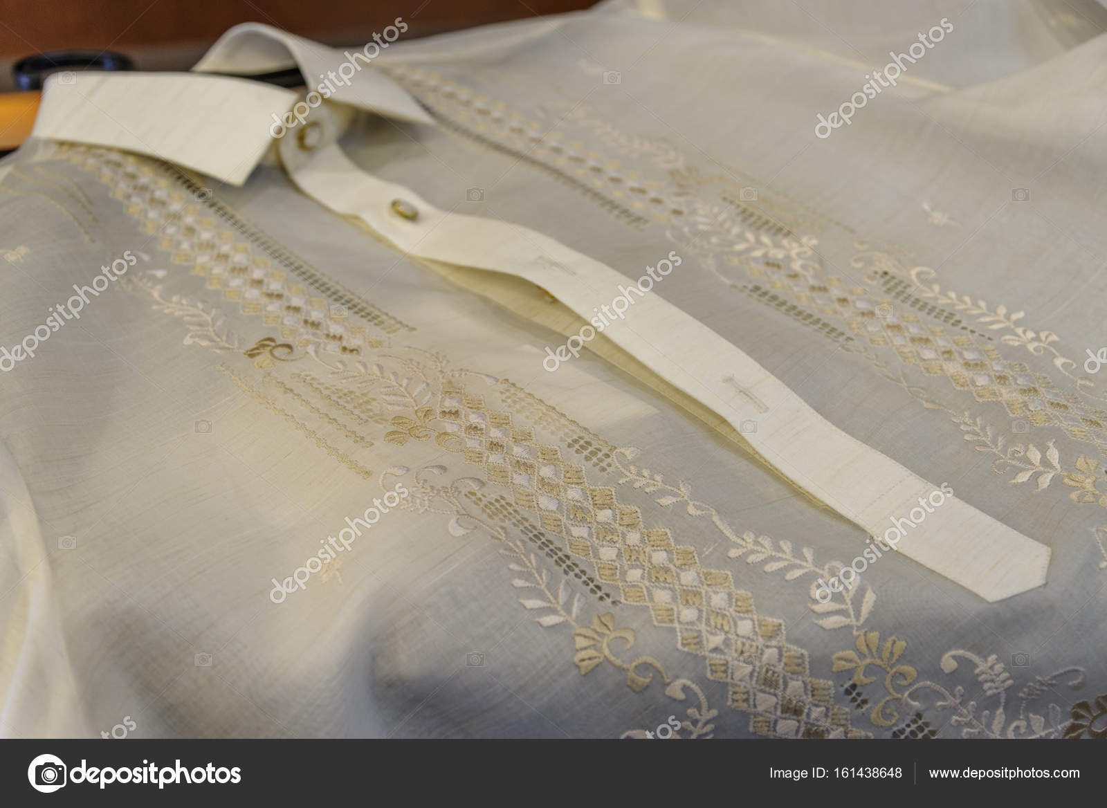 formelle Hemd und Tracht Barong Tagalog — Stockfoto © bugking88 ...