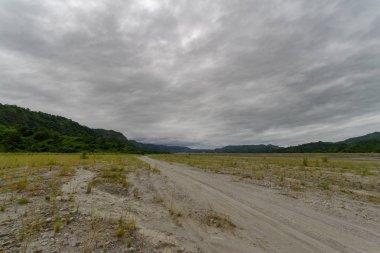 cloudy sky at Mt Pinatubo